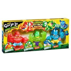 Heroes of Goo Jit Zu - Pack 3 Figurines 11 cm Dino Power