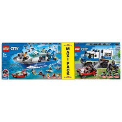 Maxi Pack LEGO City - 60276+60277