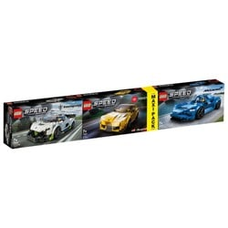 Maxi Pack LEGO Speed Champions - 76900+76901+76902