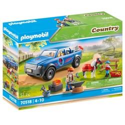 Maréchal-ferrant et véhicule - PLAYMOBIL Country - 70518