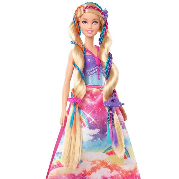 Poupée Barbie Dreamtopia Tresses Magiques