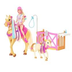 Barbie - Coffret Toilettage des Chevaux