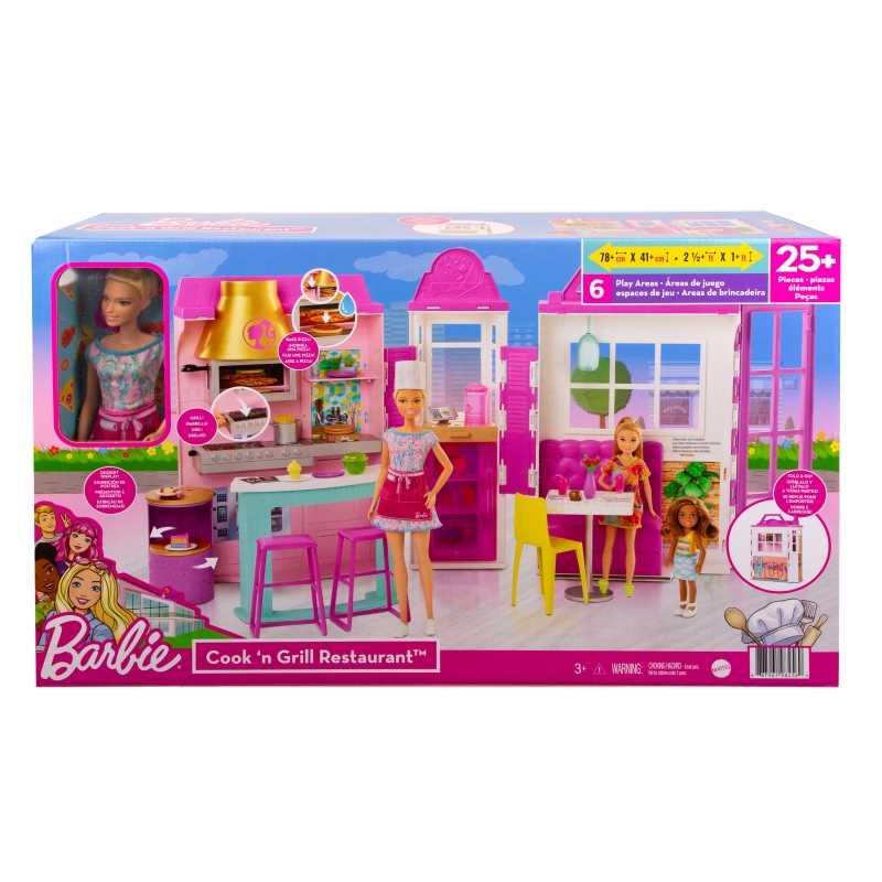 Coffret Barbie et son restaurant