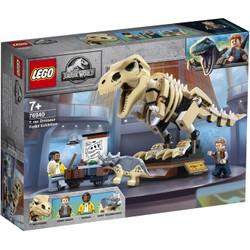 L'exposition du fossile du T Rex - LEGO Jurassic World - 76940