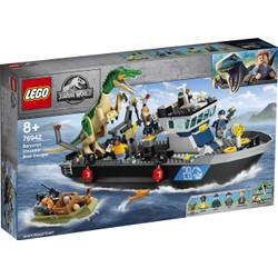 L'évasion en bateau du Baryonyx - LEGO Jurassic World - 76942