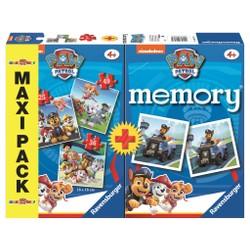 Maxi Pack 3 Puzzles + Memory Pat'Patrouille