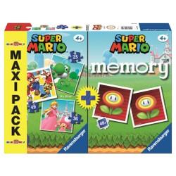 Maxi Pack 3 Puzzles + Memory Super Mario