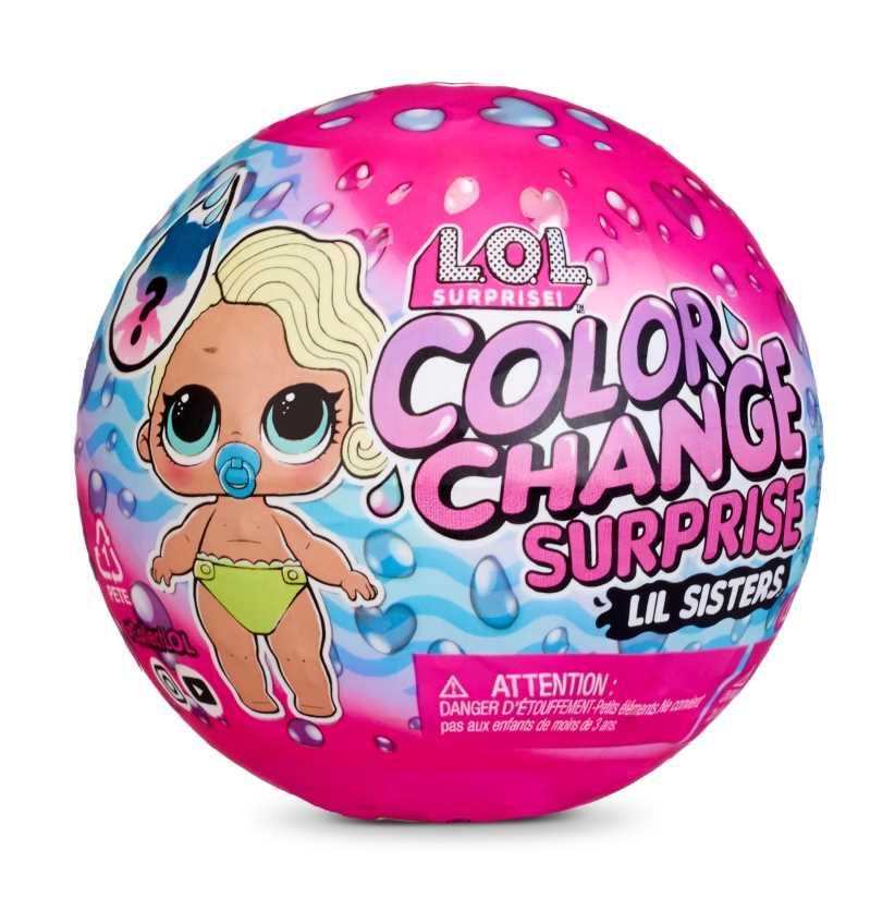 L.O.L. Surprise! Color Change Lil Sisters