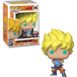 Figurine Funko Pop! Dragon Ball - Goku Super Saiyan avec Kamehameha