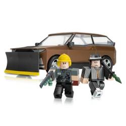 Roblox - Véhicule Car Crushers avec 2 figurines