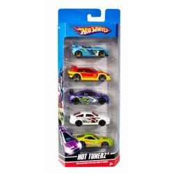 Pack de 5 véhicules Hot Wheels