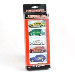 Pack de 5 voitures