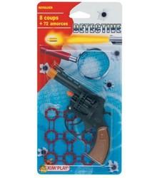Pistolet 8 coups + amorces