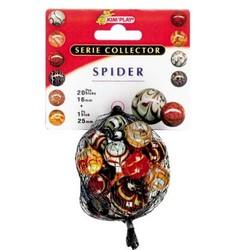 Billes Collector : 20 billes + 1 calot Spider