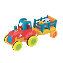 Tracteur musical avec remorque