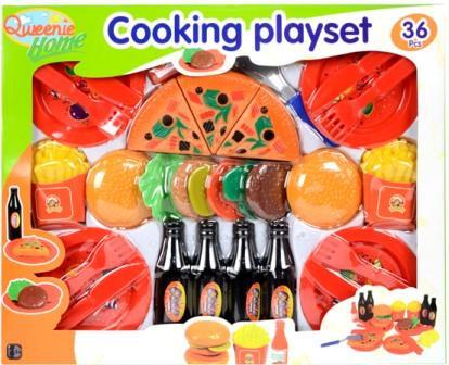 La cuisine fastfood 36 pièces
