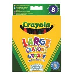 8 crayons géants lavables