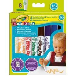 8 Feutres Lavables Mini Kids