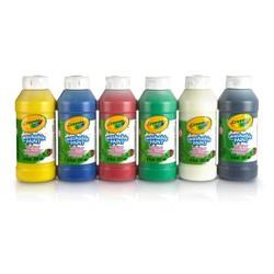 6 bouteilles de peinture