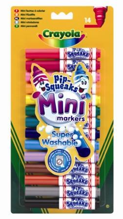 14 Mini Feutres à colorier