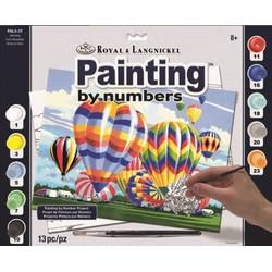 Peinture par numéros grand modèle