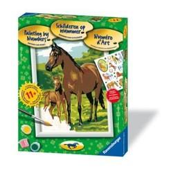 Numéro d'art série chevaux