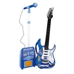 Guitare 74 cm avec amplificateur et micro