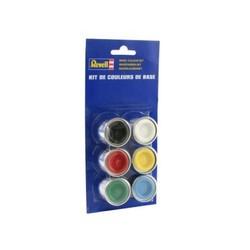 Kit 6 pots de couleurs de base